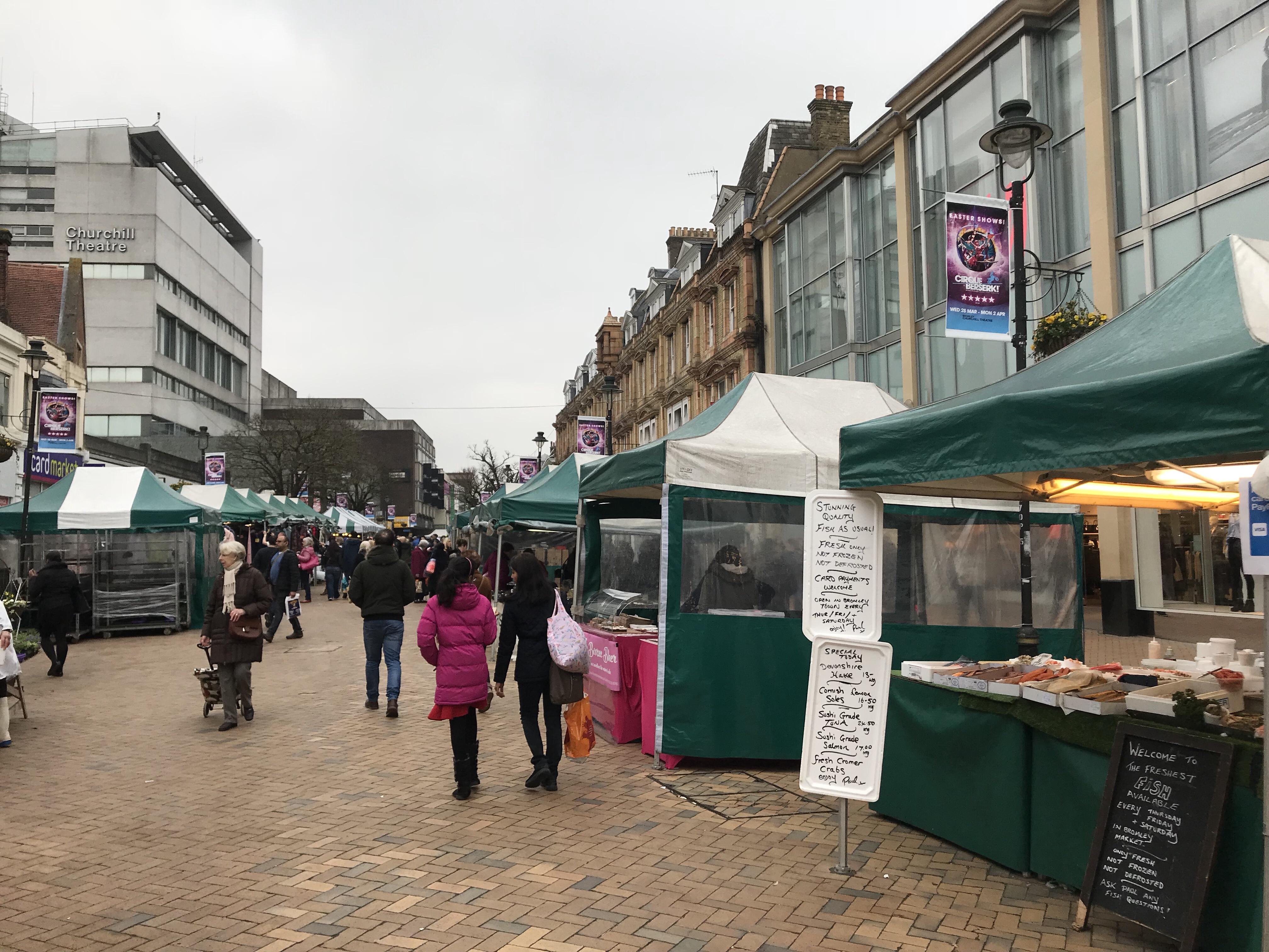 Bromley market england