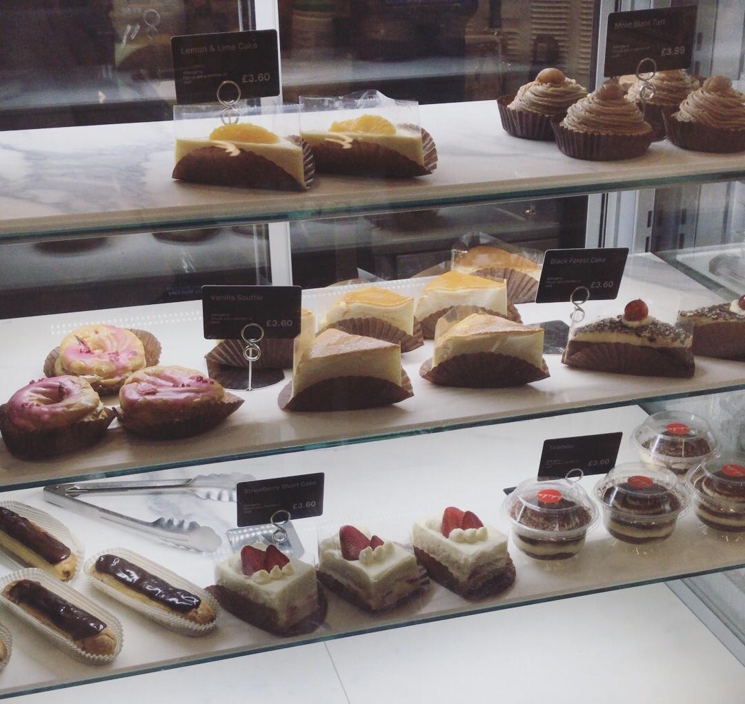 ichiba ロンドン ケーキ