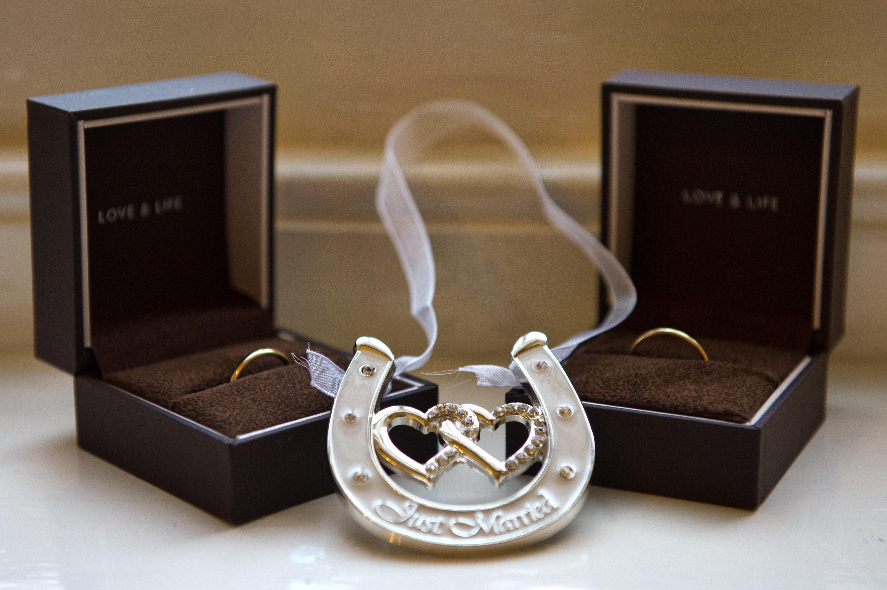 ホースシューと結婚指輪 同性婚