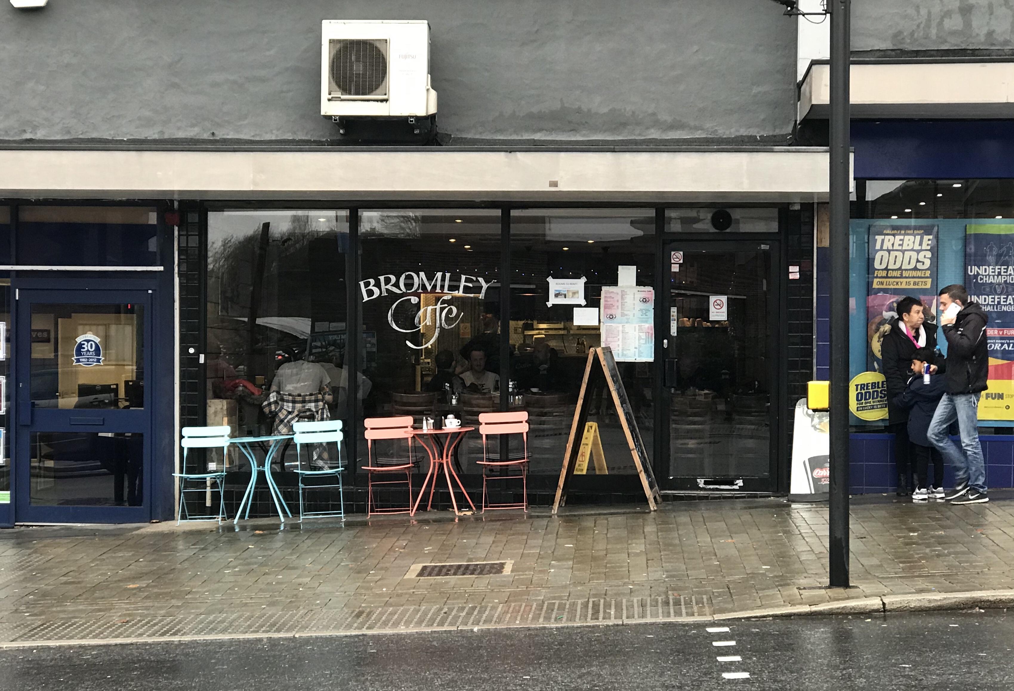Bromley Cafe ロンドン イギリス