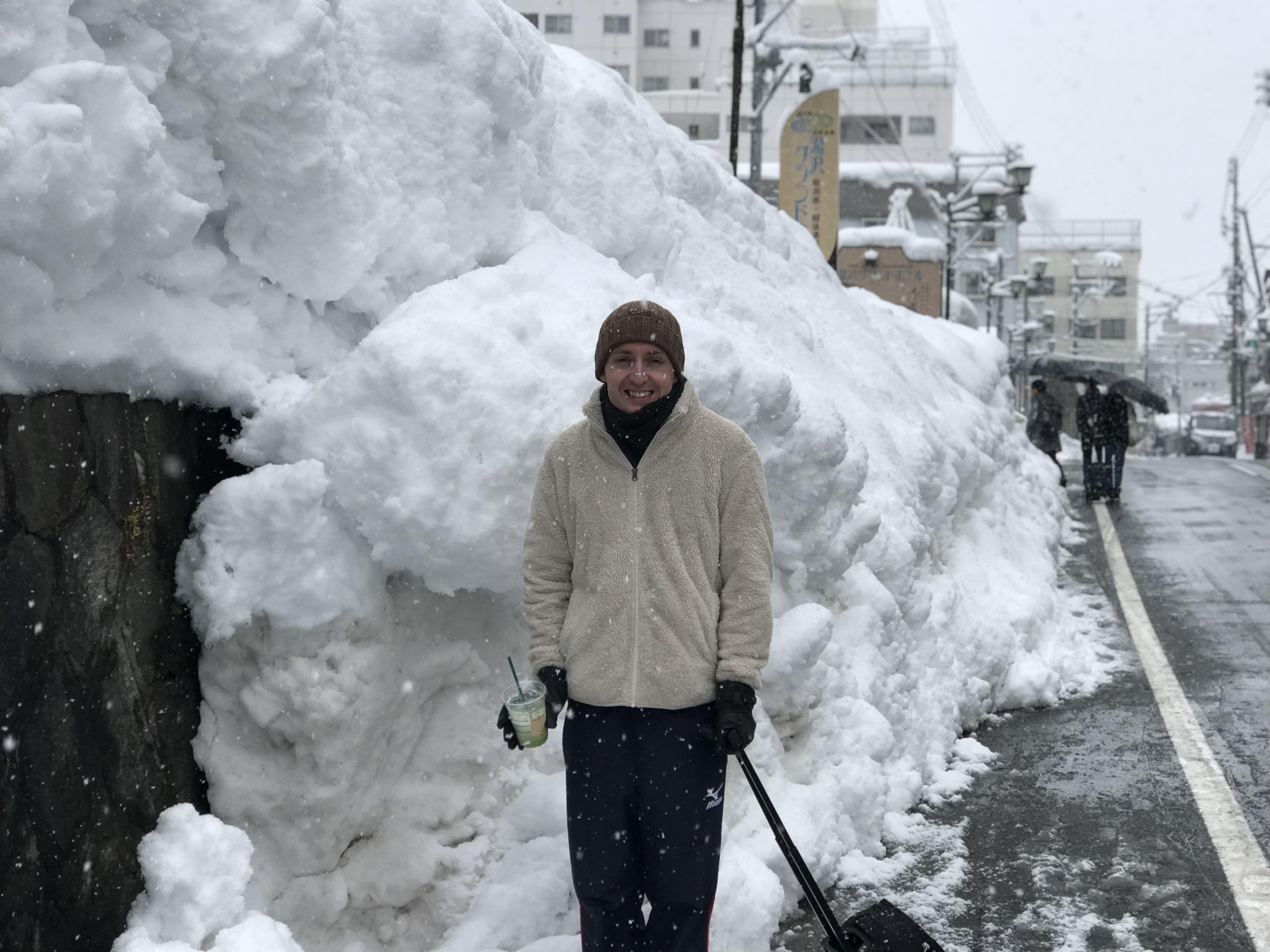 積雪 越後湯沢 スキー スノーボード 一時帰国