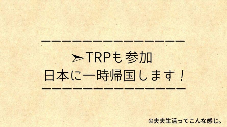 【お知らせ】GWに日本へ帰ります!