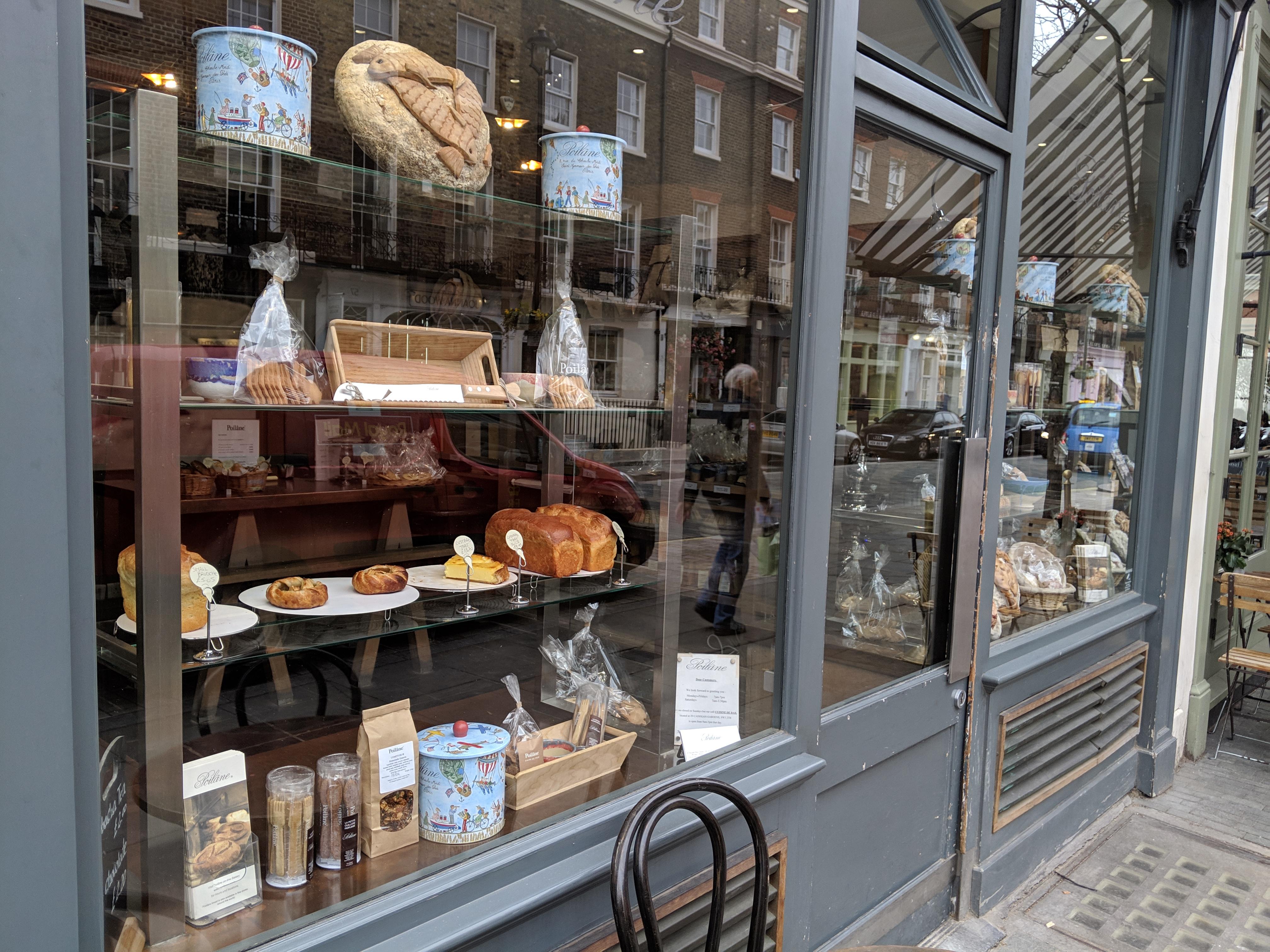 Poilane ポワレーヌ イギリス ロンドン ベーカリー パン屋