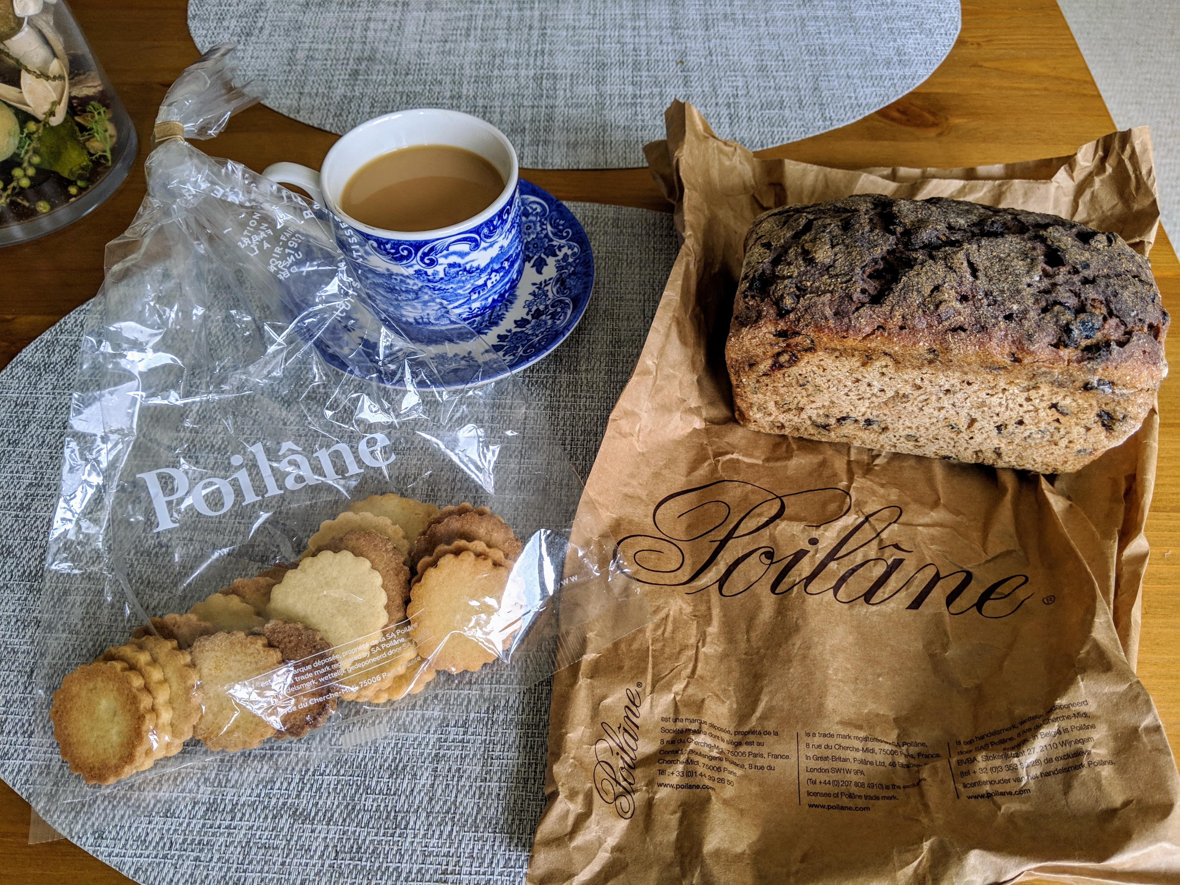 Poilane ロンドン イギリス ベーカリー ポワレーヌ パン クッキー
