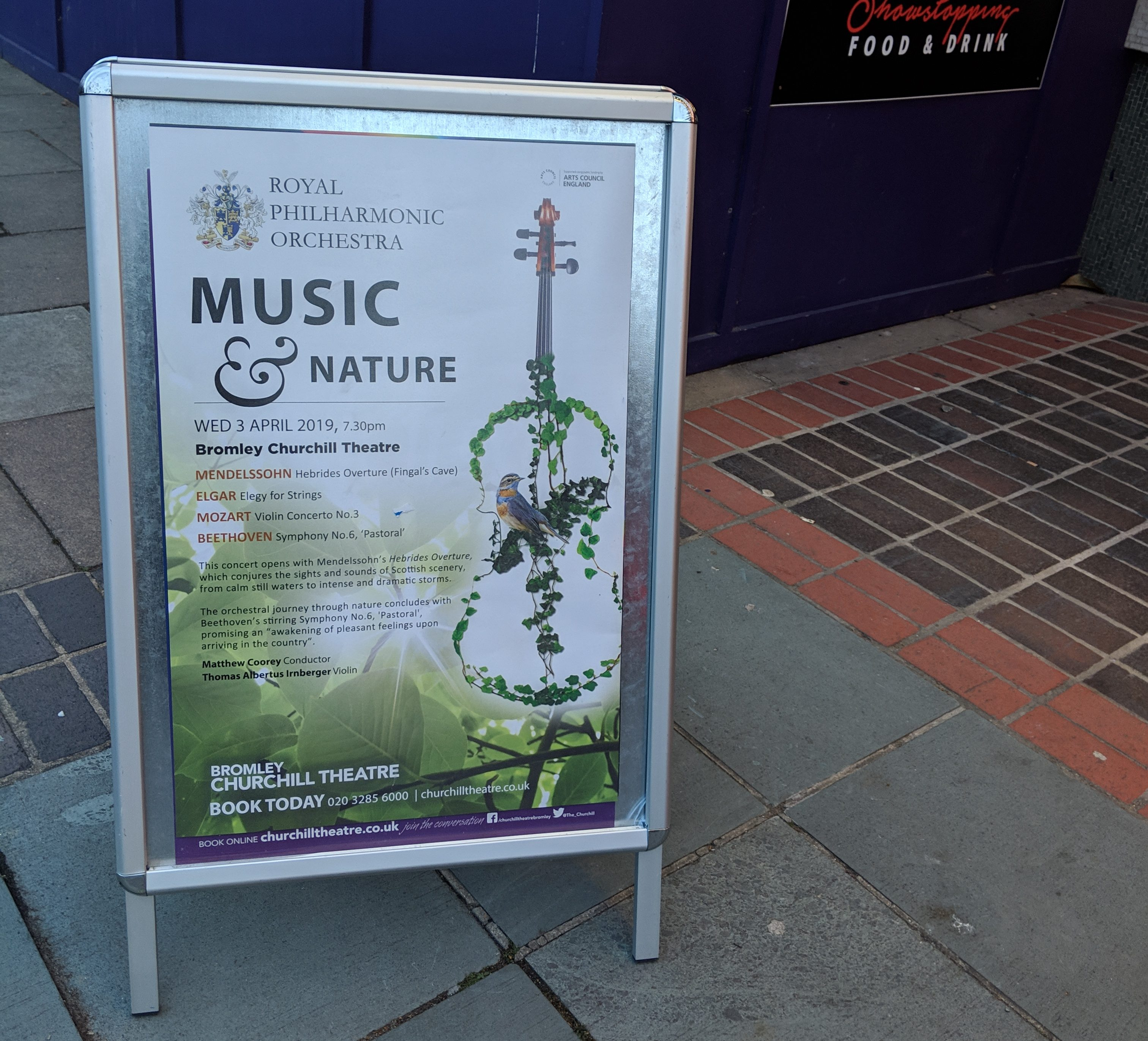 ロイヤル・フィルハーモニー管弦楽団 演奏 イギリス ロンドン