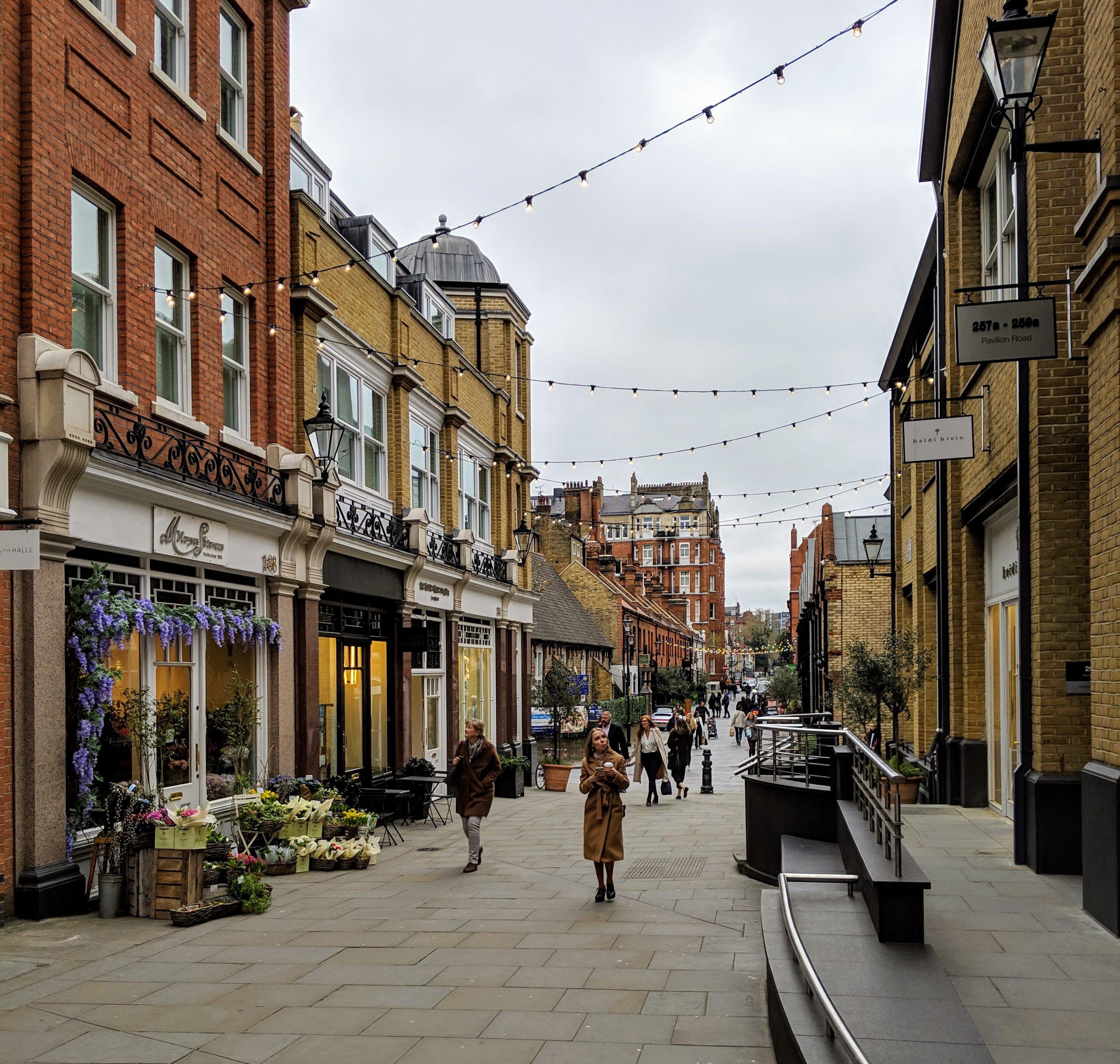 Slone Square ロンドン イギリス チェルシー Chelsea