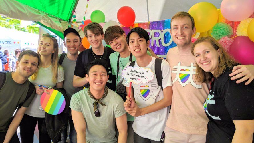 Tokyo Rainbow Prideへ行ってきたよ!